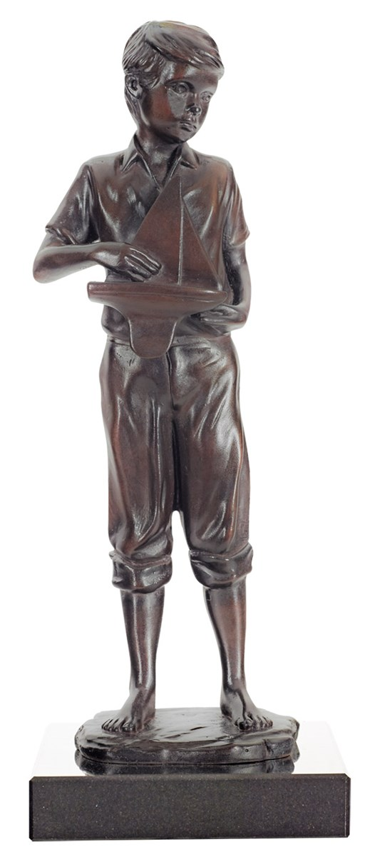 Childhood Dreams by Sherree Valentine Daines - Bronze Sculpture sized 4x10 inches. Available from Whitewall Galleries
